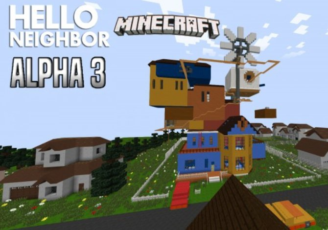 Casa del MOD Hello Neighbor Alpha 3