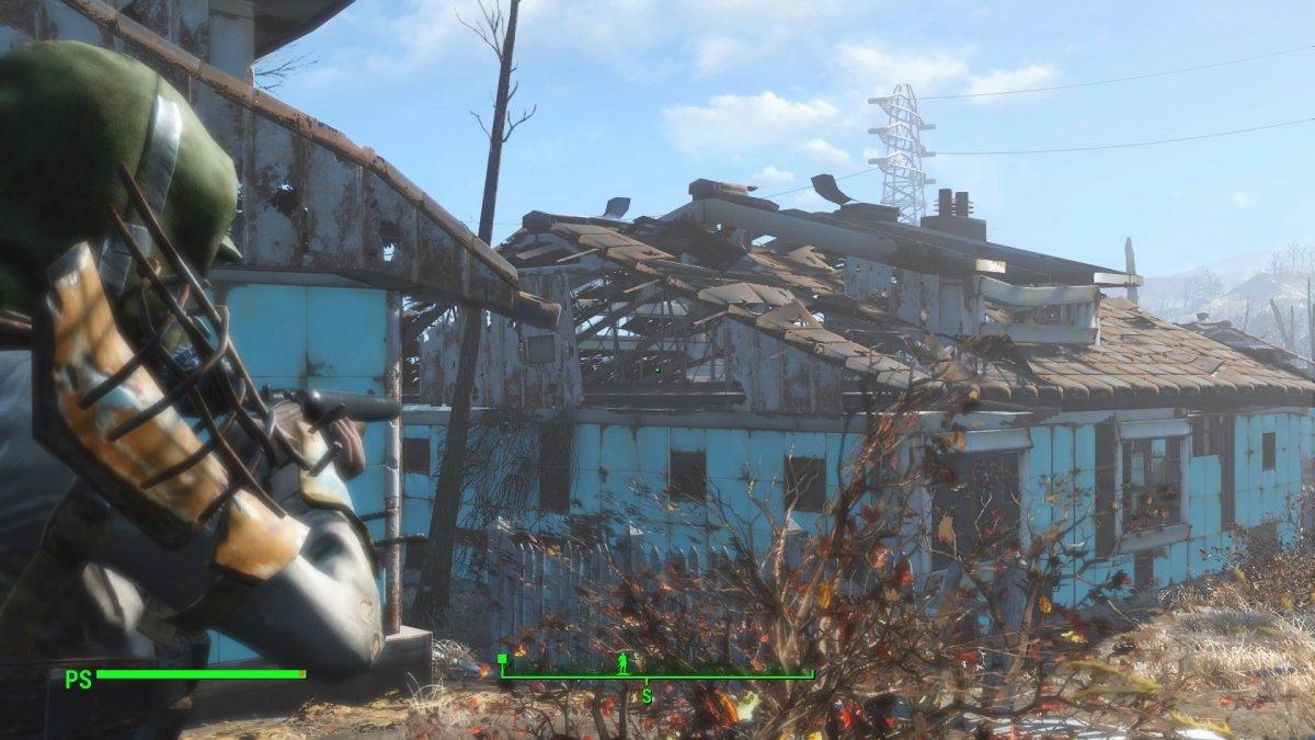 Casas destruidas de Sanctuary de Fallout 4