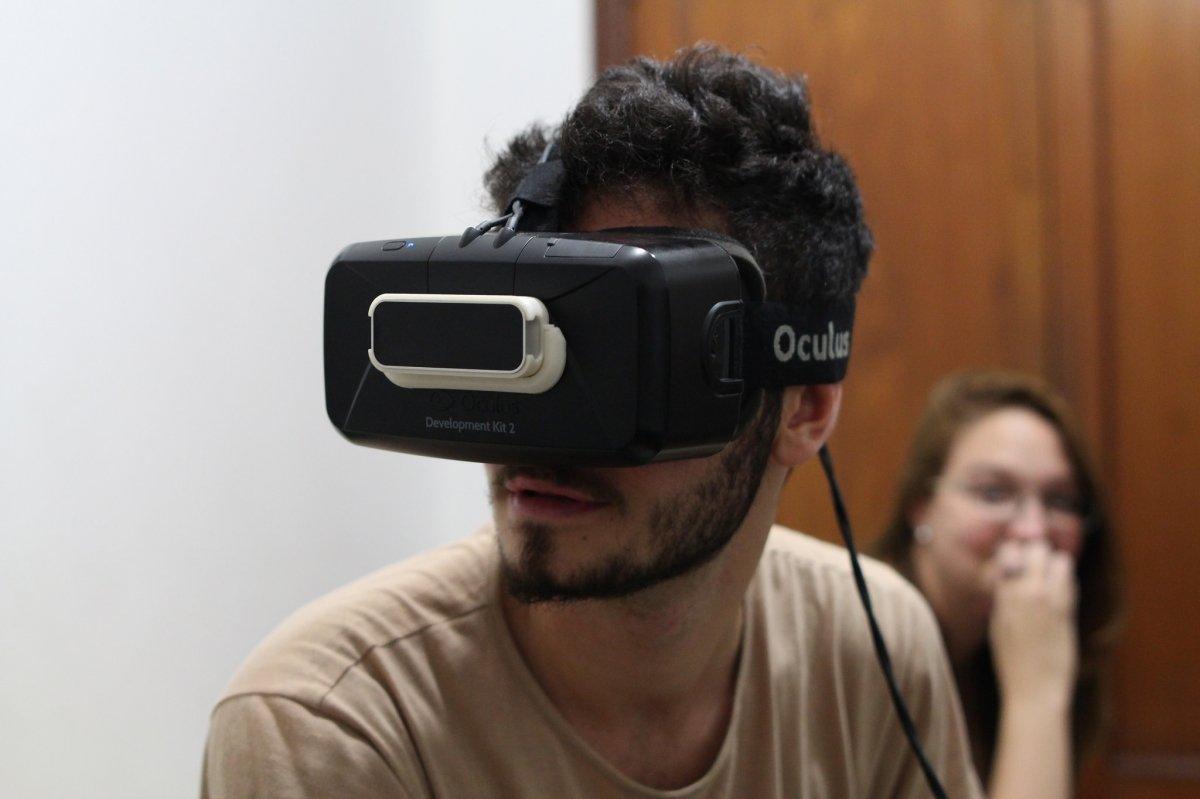 Casco de Realidad Virtual Oculus Rift