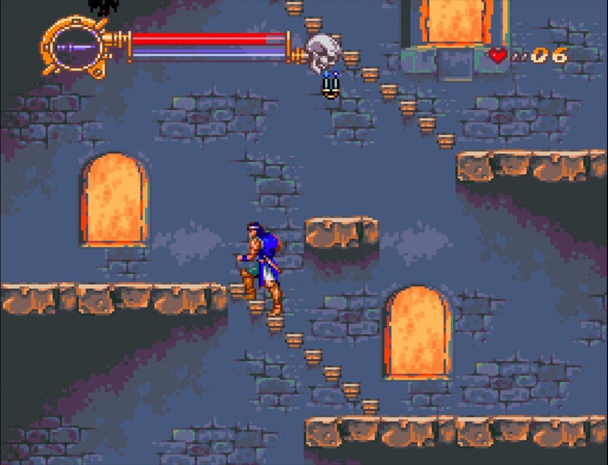Castlevania Dracula X ejecutándose en RetroPie
