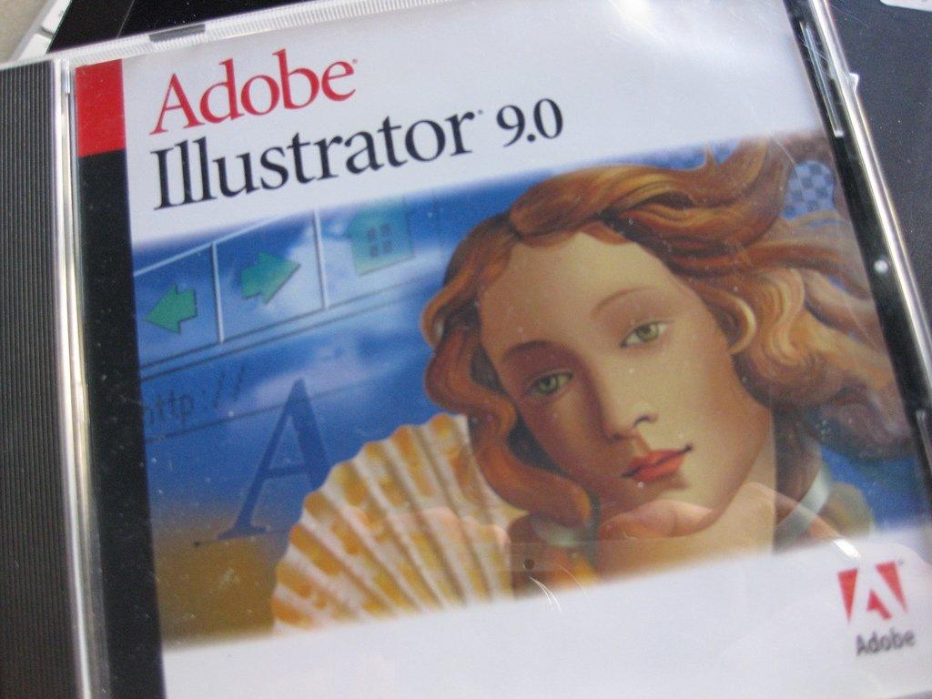 CD de instalación de Adobe illustrator 9.0