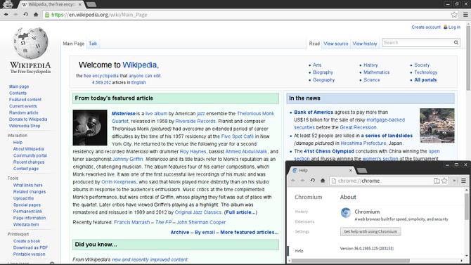 Chromium, versión de código abierto de Chrome