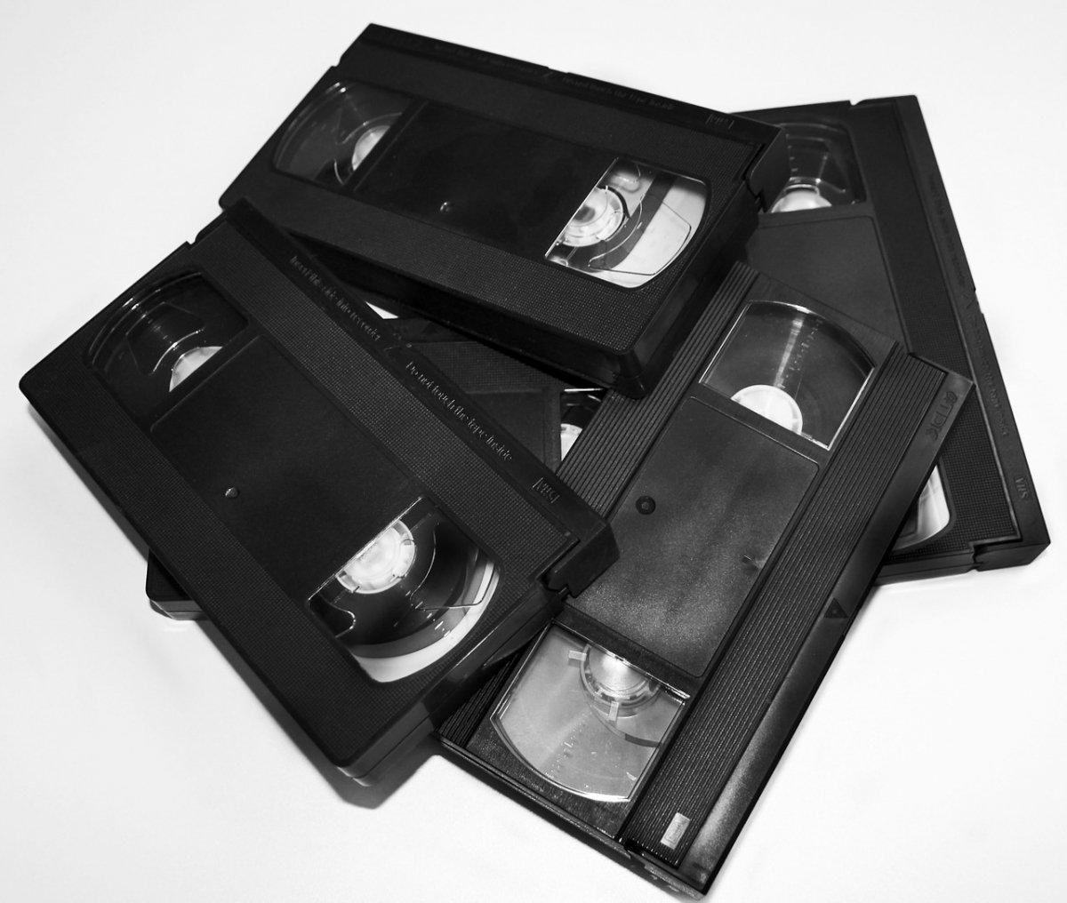 Cintas VHS, un clásico antes de los DVD