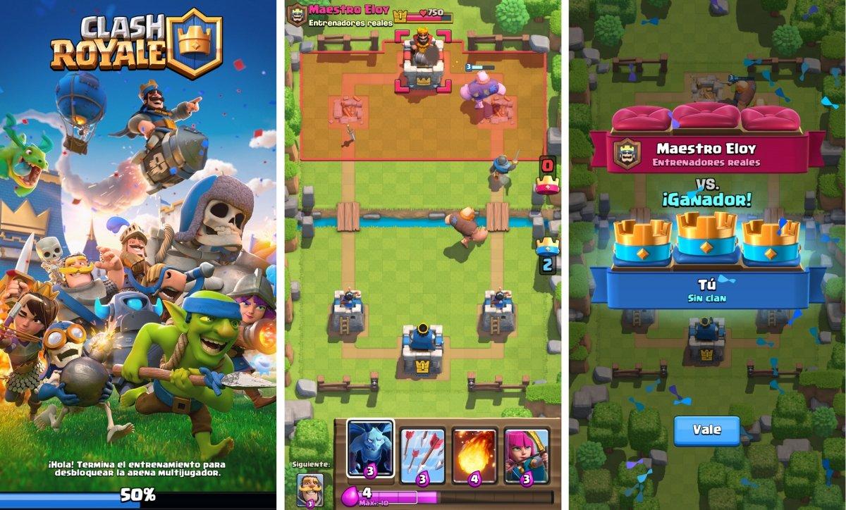 Clash Royale es de los mejores juegos de estrategia para Android