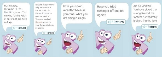 Clicky y algunos de sus comentarios más sarcásticos