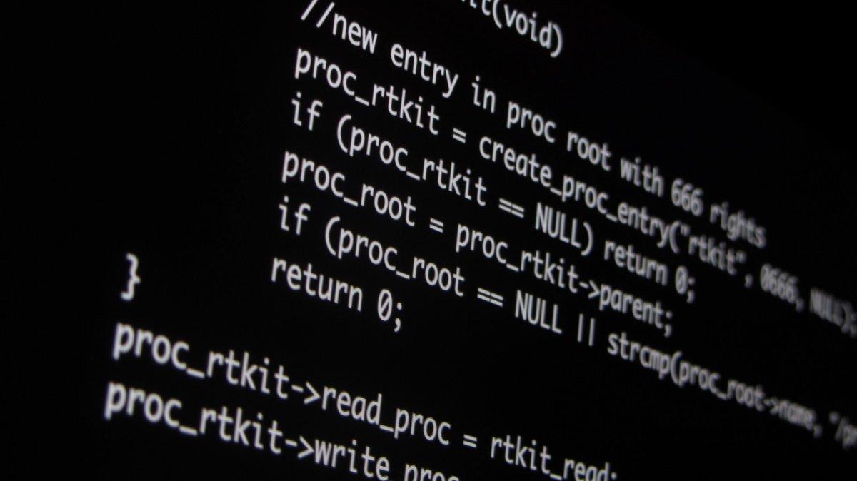 Código de software malicioso