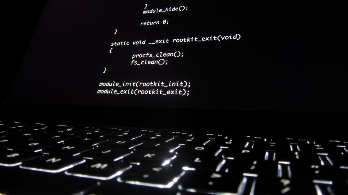 Código de un rootkit