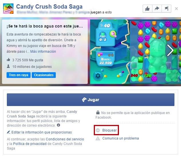 Cómo bloquear las notificaciones del Candy Crush Saga