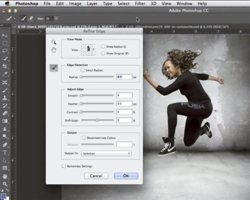 Cómo colocar un sujeto de una imagen en un fondo nuevo con Photoshop CC