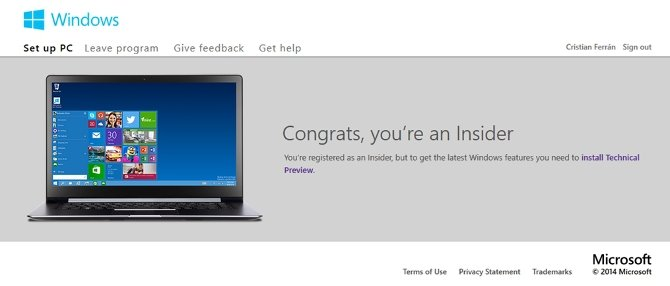 Cómo descargar Windows 10 Technical Preview gratis - imagen 2
