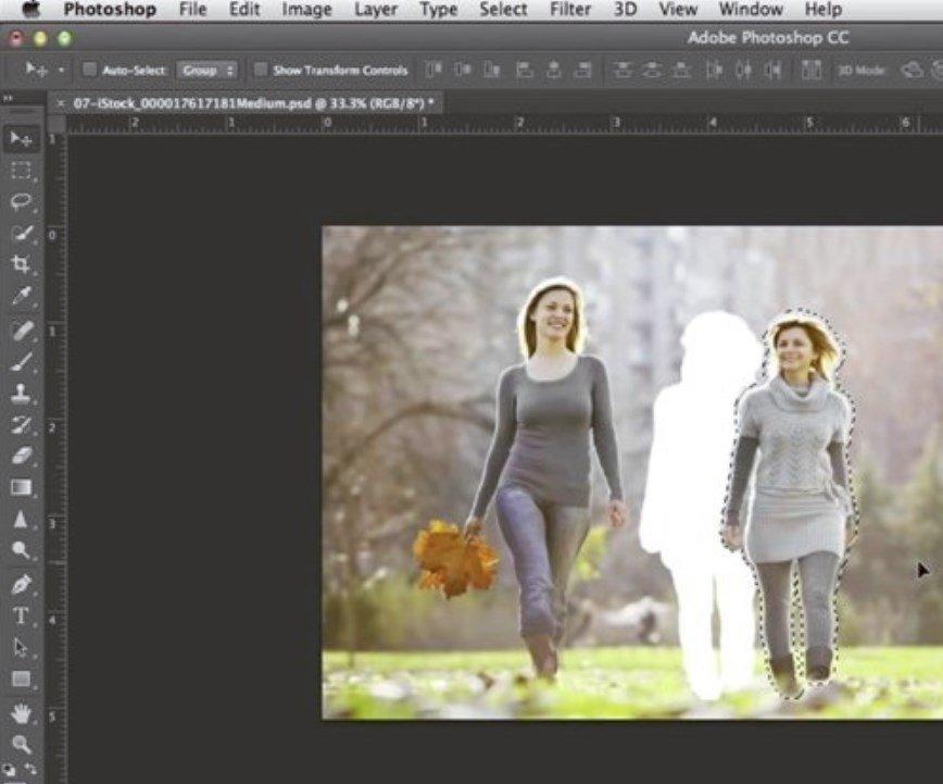 Cómo mover un objeto de una foto en Photoshop CC