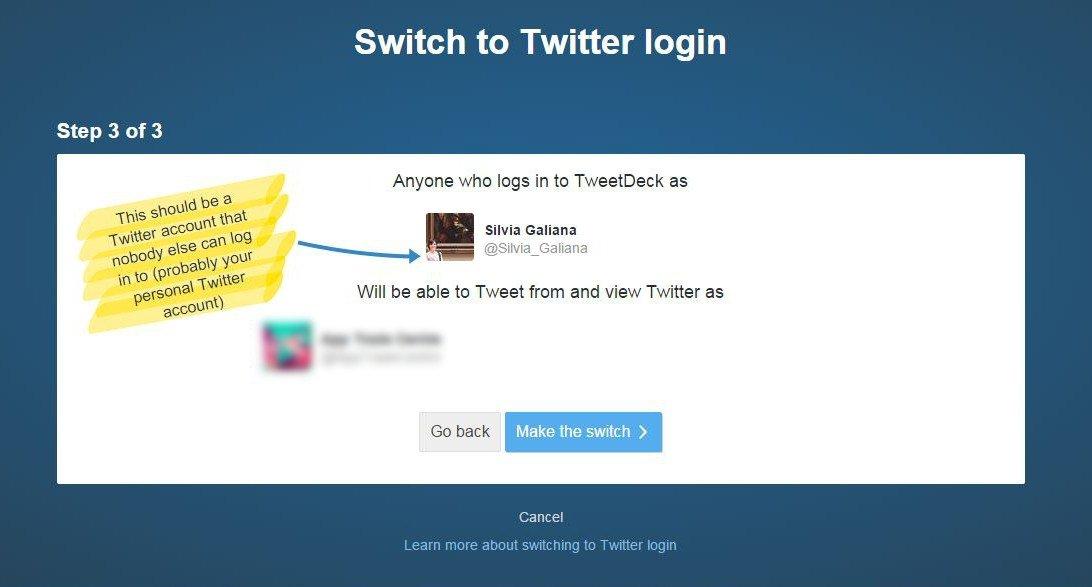 Cómo vincular la cuenta de TweetDeck con el perfil de Twitter - imagen 3