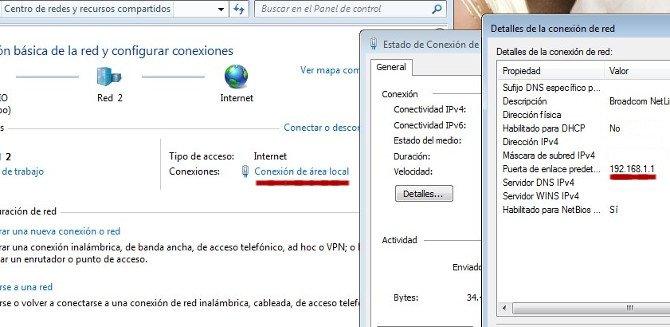 Comprobar dirección para página de configuración de router