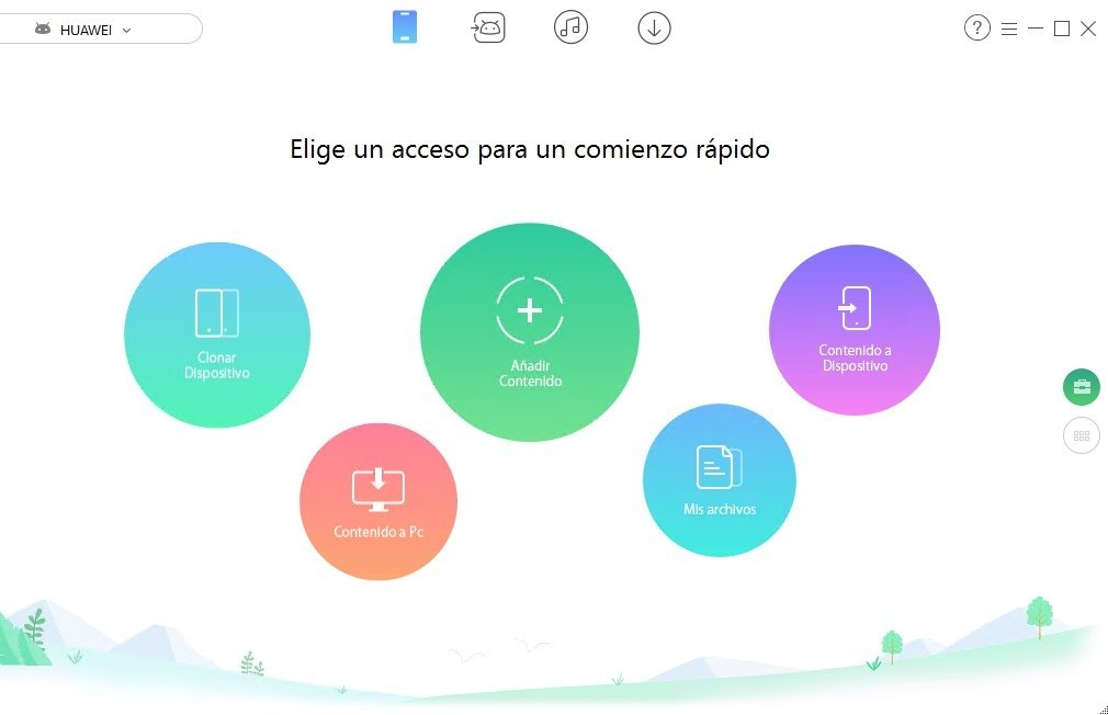 Con AnyTrans puedes pasar datos de Android a Android