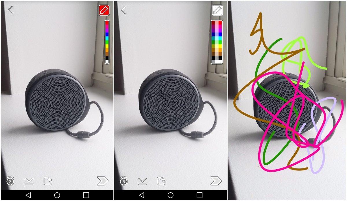 Con esta función podrás usar todos los colores que quieras