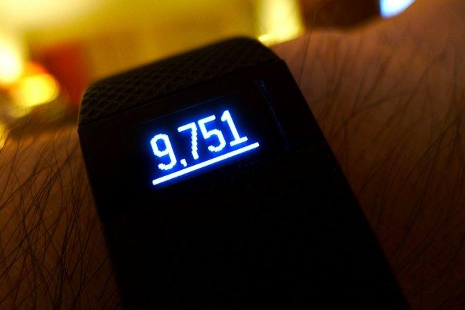 Con este hack también se puede falsear el número de pasos dados