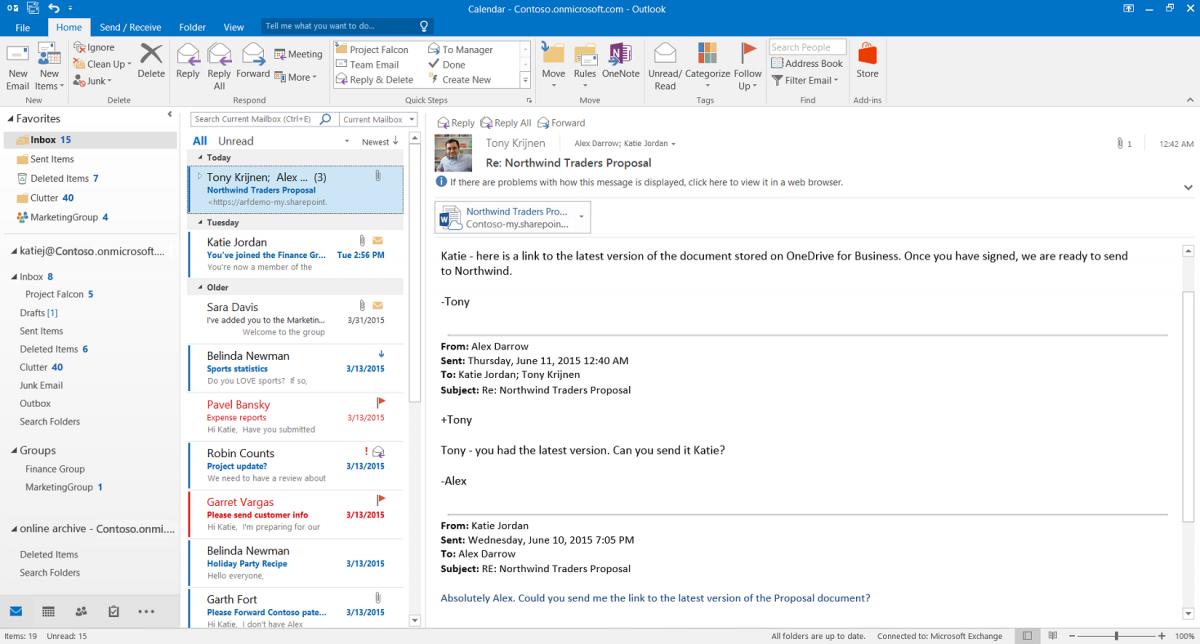 Con Outlook 2016 y Cortana podrán planificarse eventos fácilmente