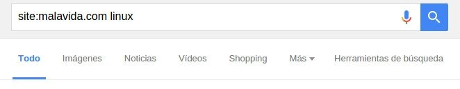 Con un comando se puede usar el motor de Google en cualquier web
