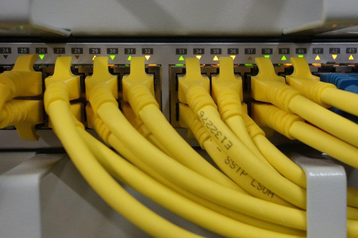Conexiones de red en un switch