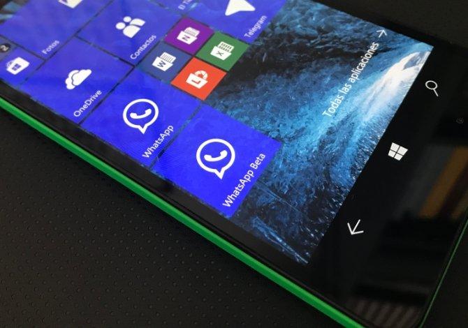 Conseguir dos aplicaciones de WhatsApp en Windows 10 Mobile