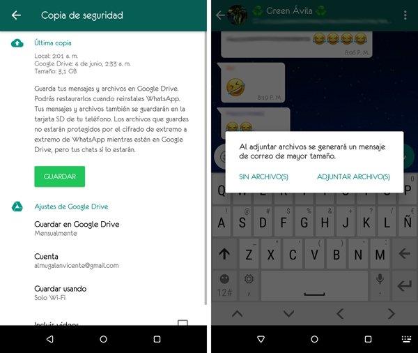 Conserva esas conversaciones apasionantes en Android