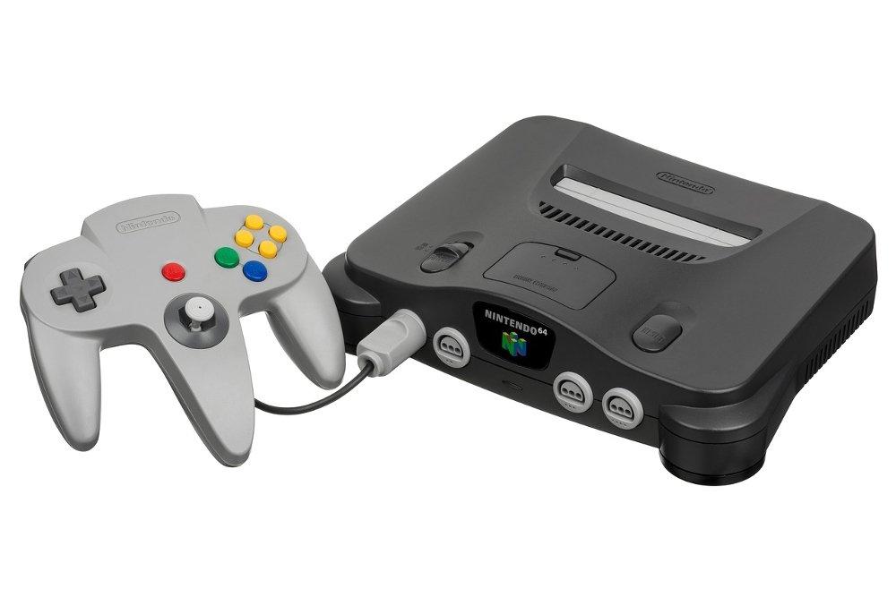 Consola Nintendo 64 con su mando