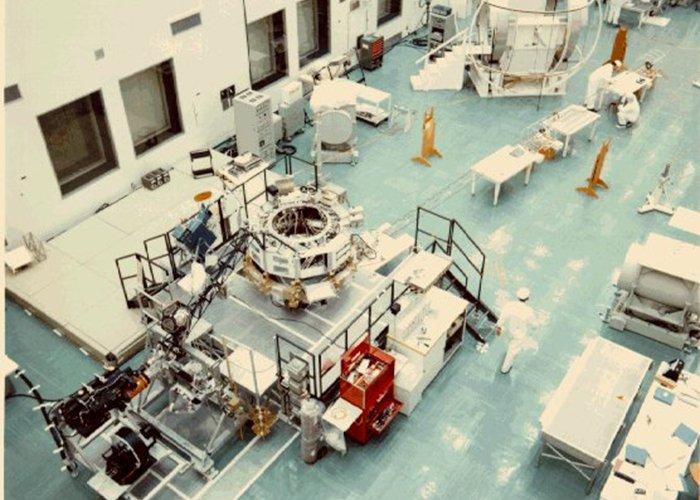 Construcción de la Voyager en Cabo Cañaveral