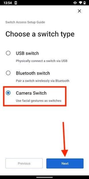 Control facial del móvil