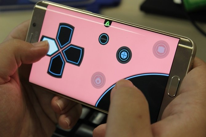 Controlando Air Console desde un Galaxy S6 edge plus