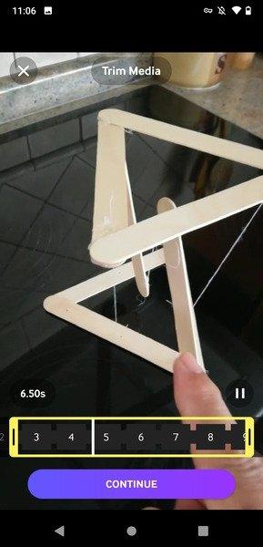 Creación de un GIF a partir de un archivo de la galería del teléfono