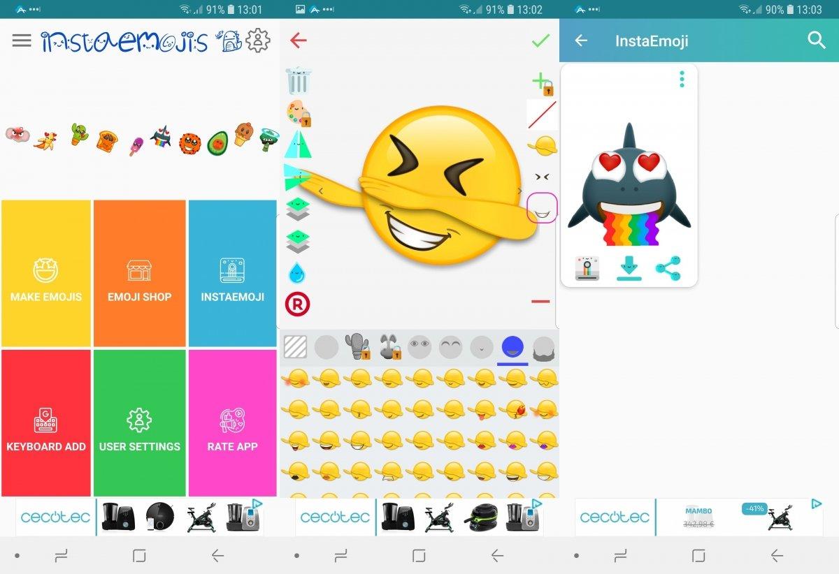 Creando emojis en Emoji Maker