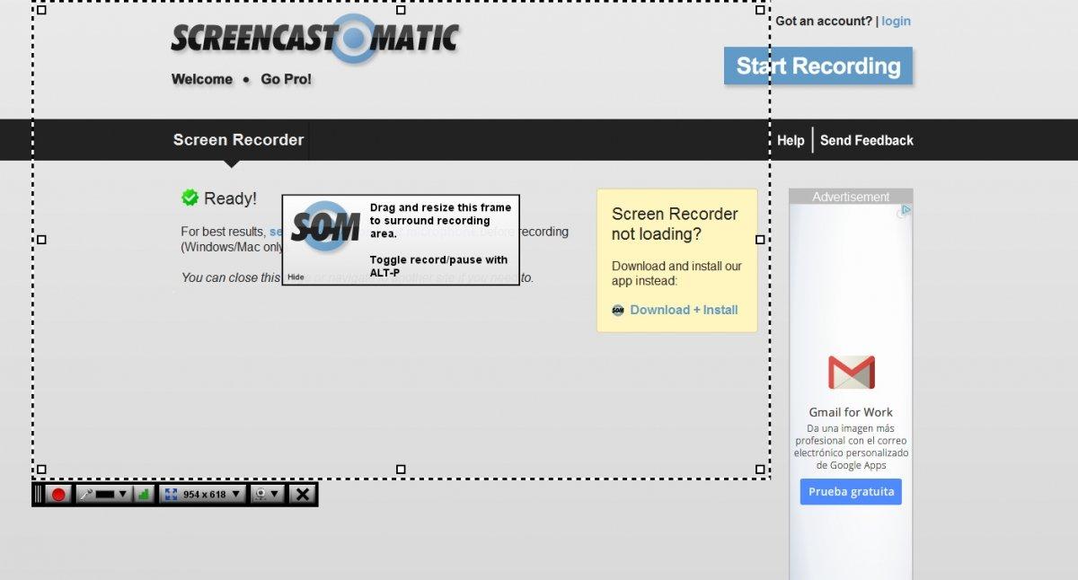 Crear un videotutorial es muy fácil con Screencast-o-matic