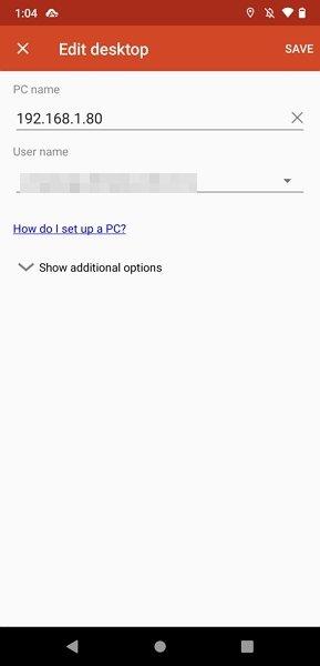 Datos de tu PC y de tu usuario