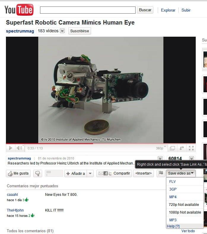Descargas YouTube 3