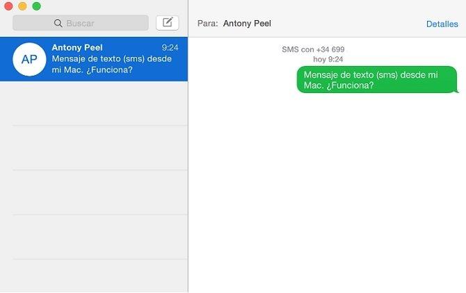 Descubre cómo enviar y recibir SMS desde un Mac con Yosemite - imagen 4