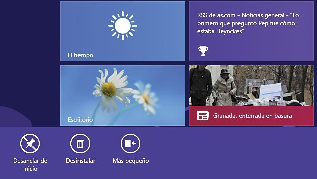 Desinstalar Windows 8