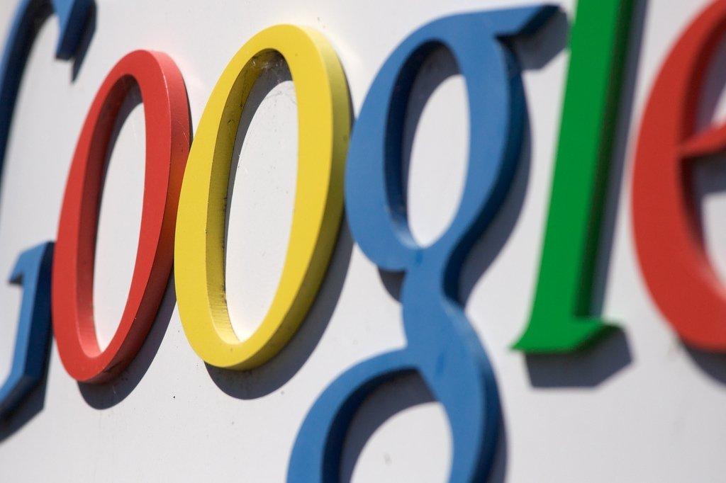 Detalle de un logo de Google
