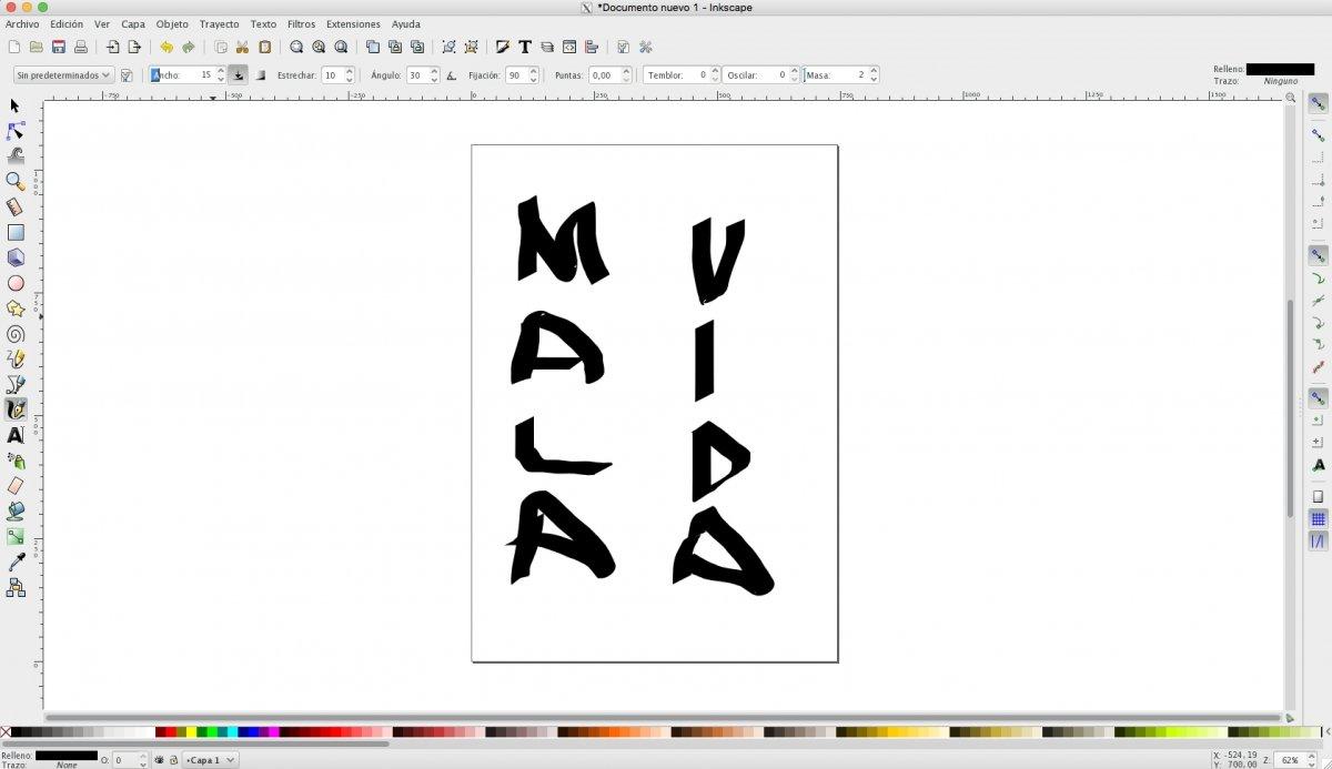 Dibujo en InkScape
