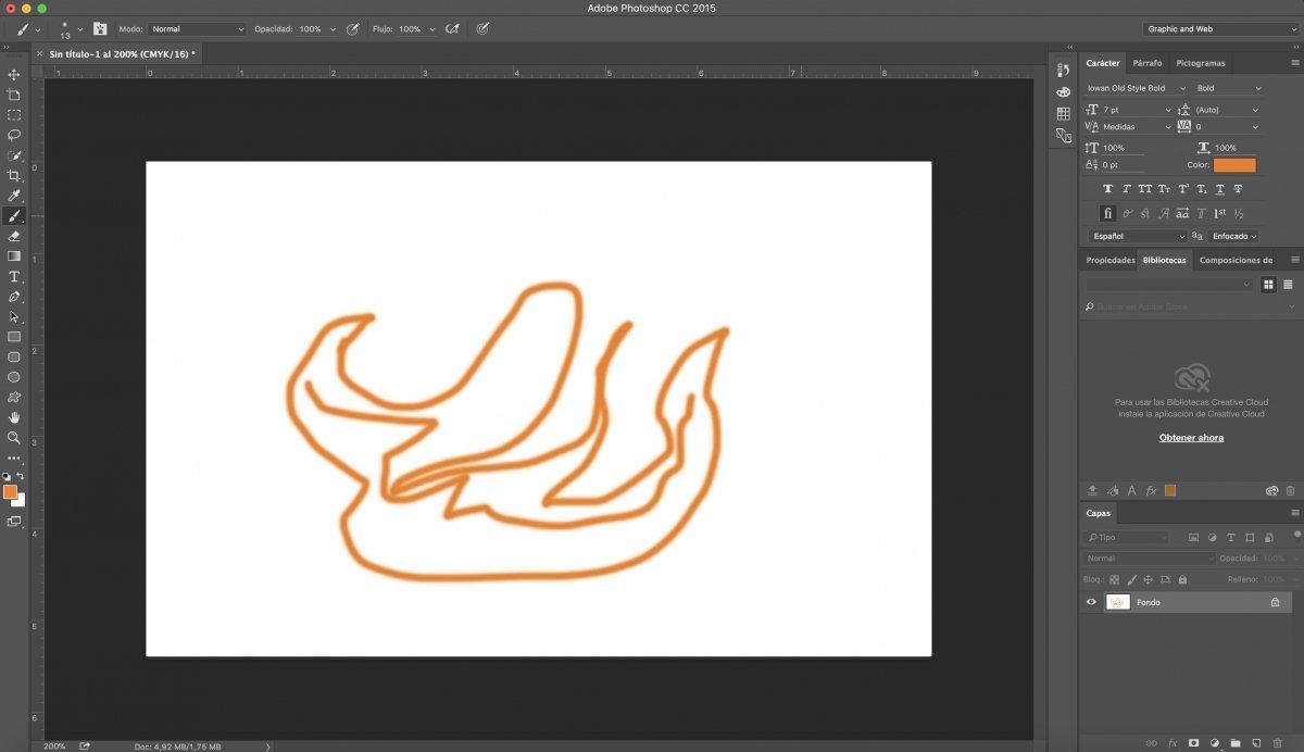 Dibujo en Photoshop