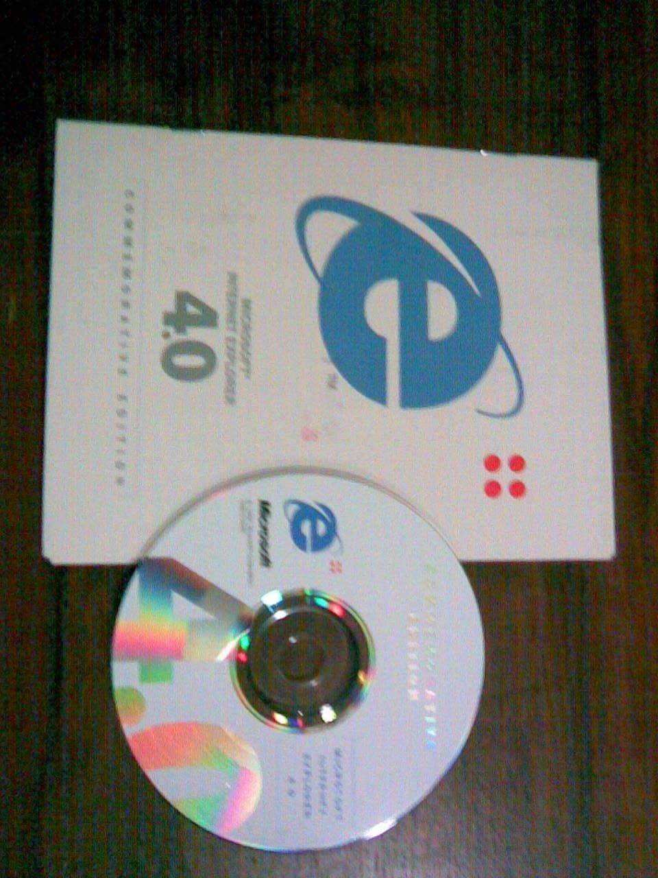 Disco de instalación de Internet Explorer 4.0