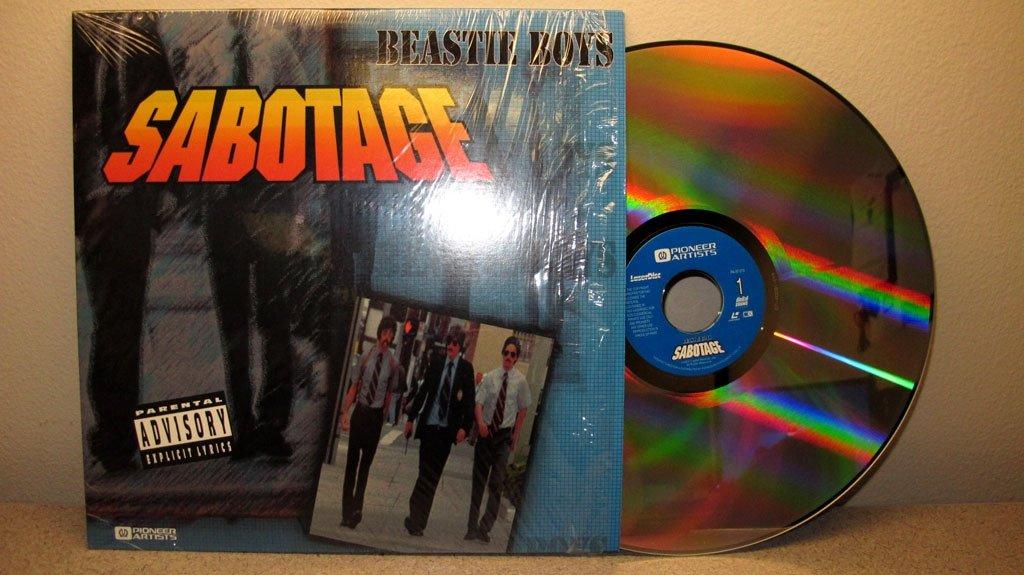 Disco de los Beastie Boys en versión LD