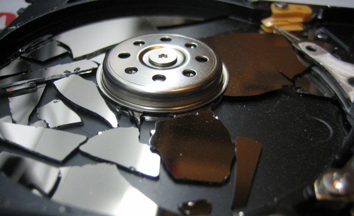 Disco duro dañado