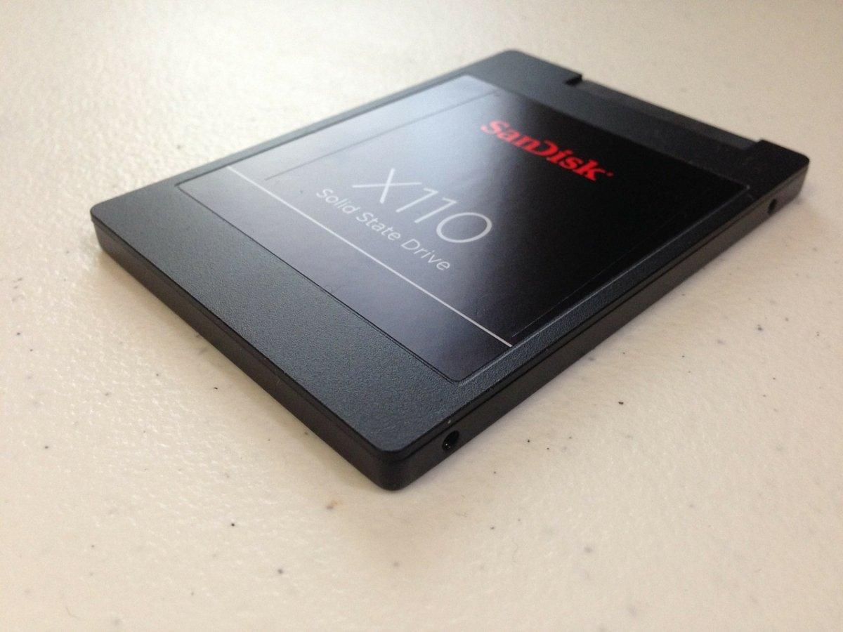 Disco duro de estado sólido o SSD