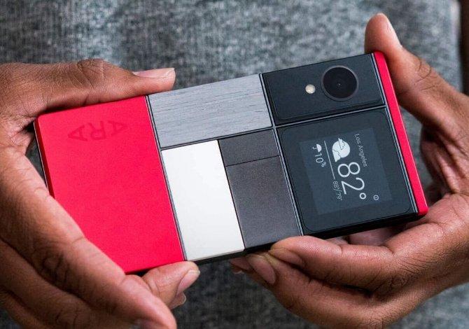 Diseño del primer teléfono módular de Google basado en Project Ara