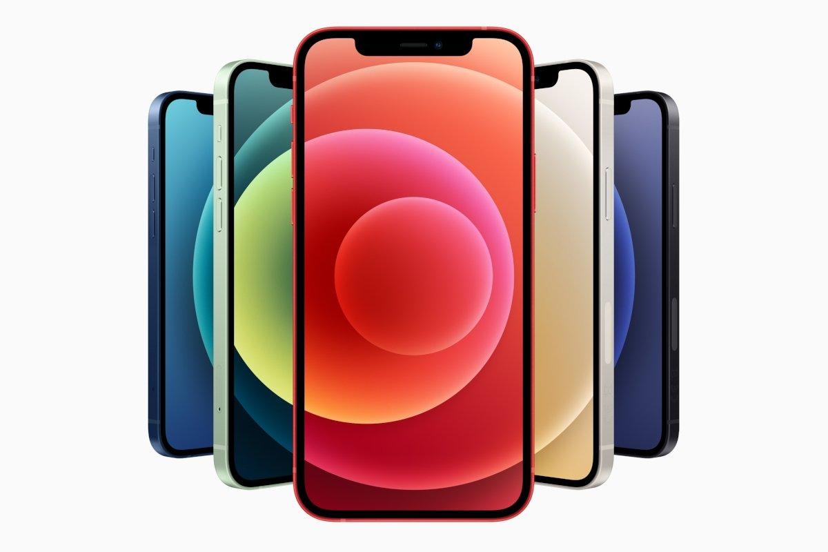 Diseño y colores del iPhone 12