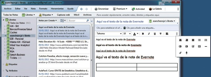 Domina Evernote 1