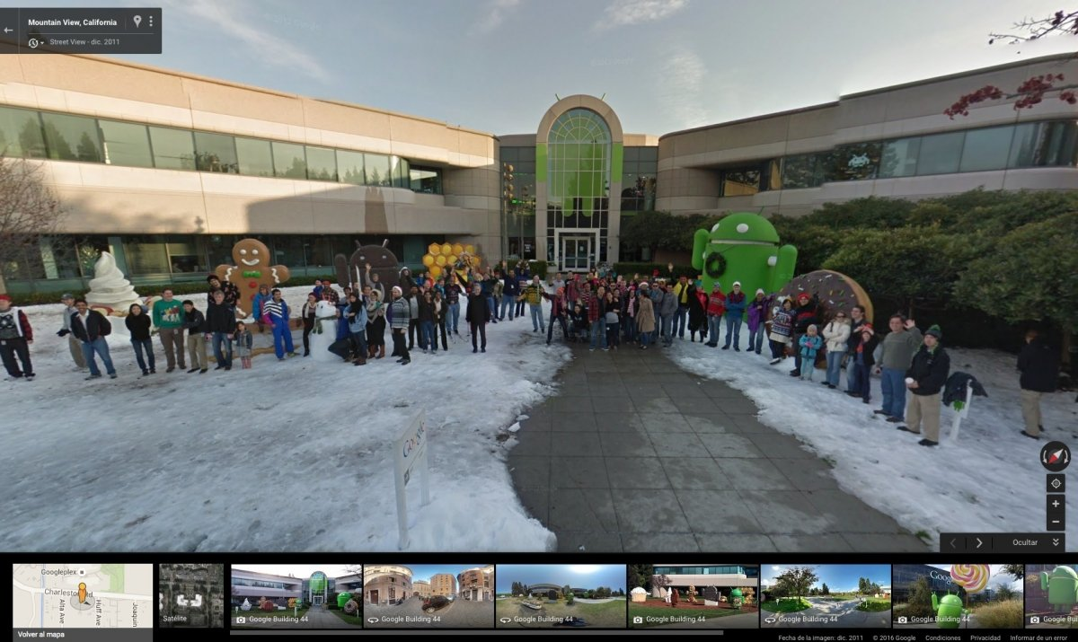 Edificio 44, oficinas de los desarrolladores de Android