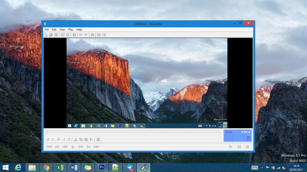 Edita cualquier vídeo con Machete Video Editor Lite para PC