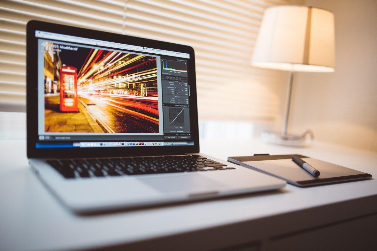 Editando una fotografía en un Mac