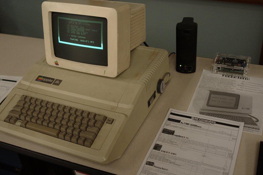 El Apple II sirvió como plataforma para lanzar estos programas
